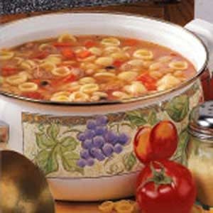 White Bean and Pasta Soup