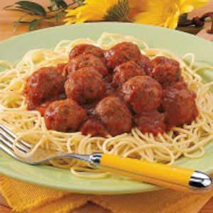 Best Spaghetti 'n' Meatballs