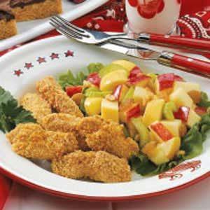 Baked Sesame Chicken Strips