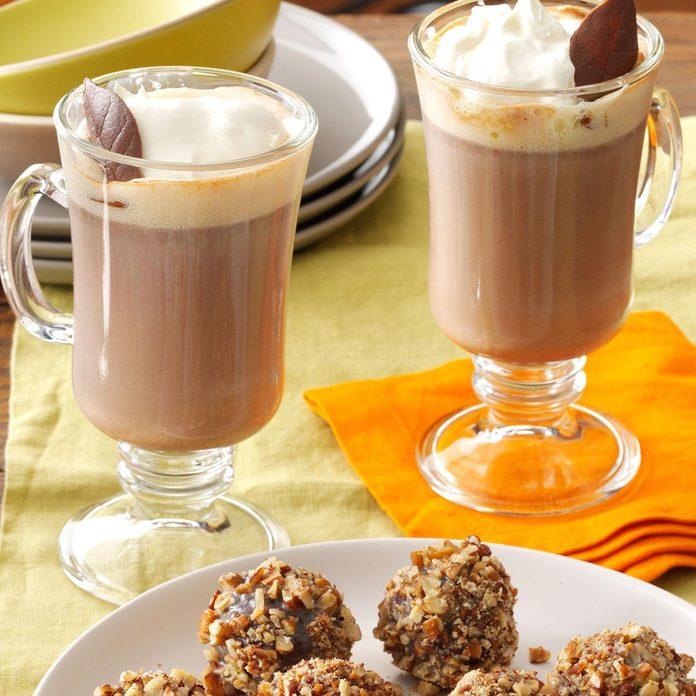 Favorite Mint Hot Chocolate