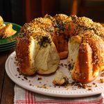 Sesame Herb Pull-Apart Bread
