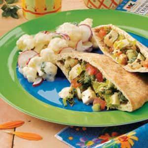 Cauliflower Radish Salad