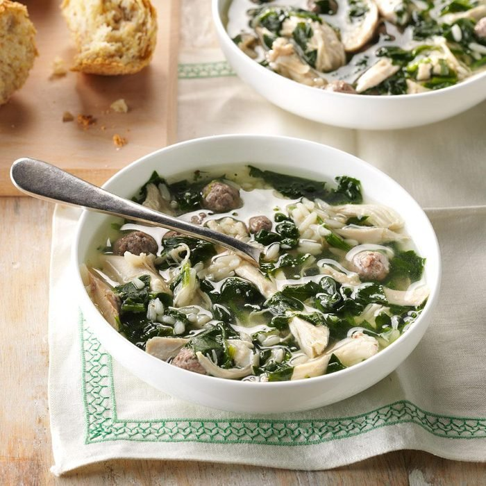 Calabrian Holiday Soup