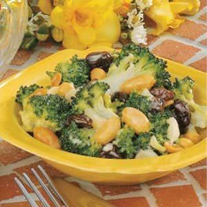 Sweet-Sour Broccoli Salad