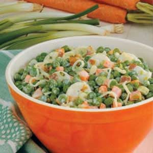 Water Chestnut Pea Salad