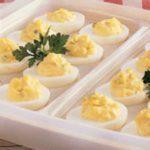 Picnic Stuffed Eggs