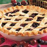 Cherry Blueberry Pie