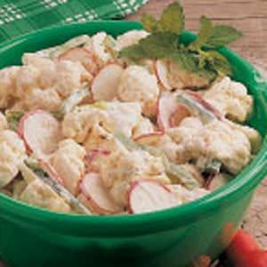 Cauliflower and Radish Salad