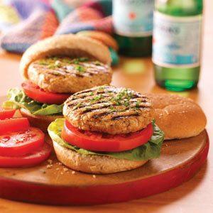 Juicy Turkey Burgers