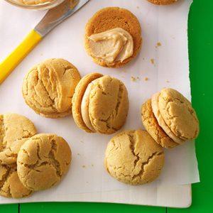 Mini Peanut Butter Sandwich Cookies