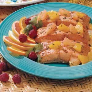 Salmon with Citrus Salsa