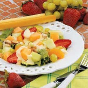 Tangy Fruit Chicken Salad
