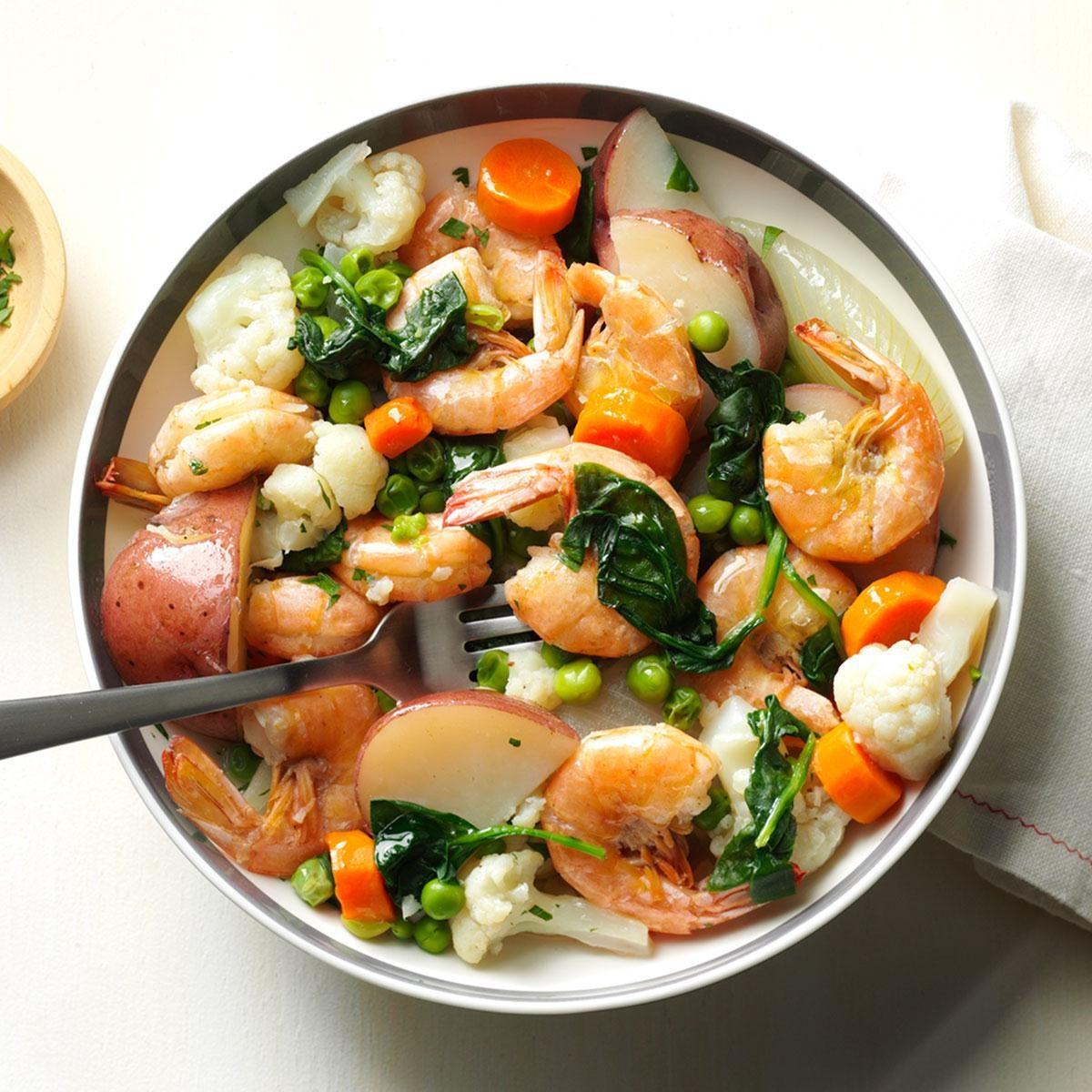 Shrimp & Vegetable Boil