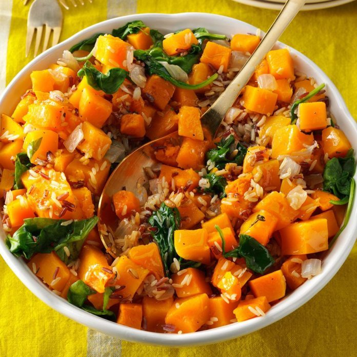 Butternut Squash with Whole Grains