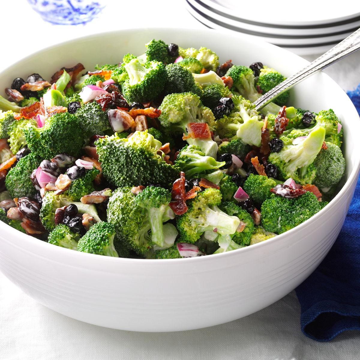 Bacon And Broccoli Salad Recipe How To Make It Taste Of Home