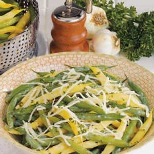 Garlic Green and Wax Beans
