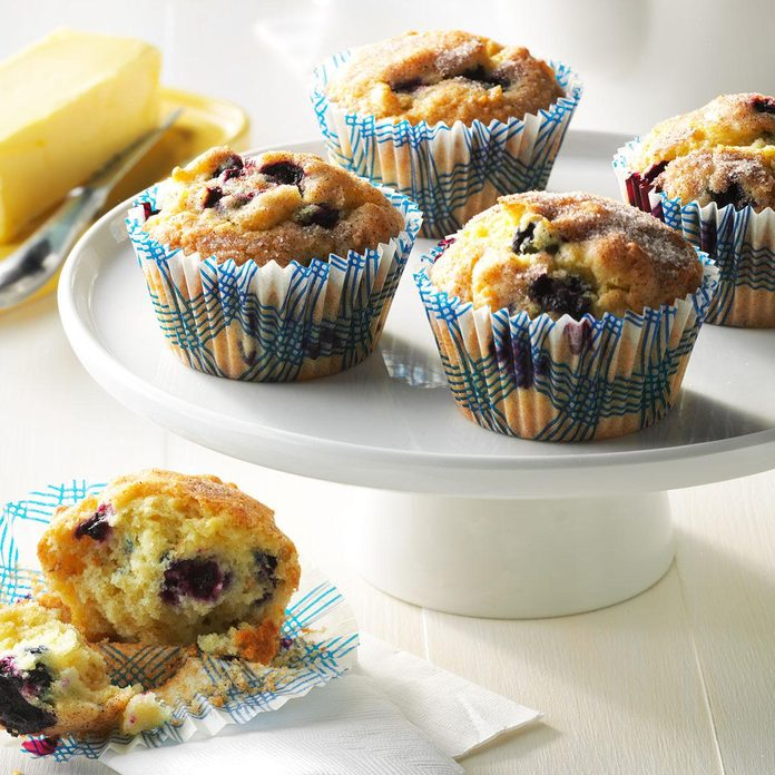Aunt Betty's Blueberry Muffins