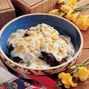 Mushroom Beef Patties