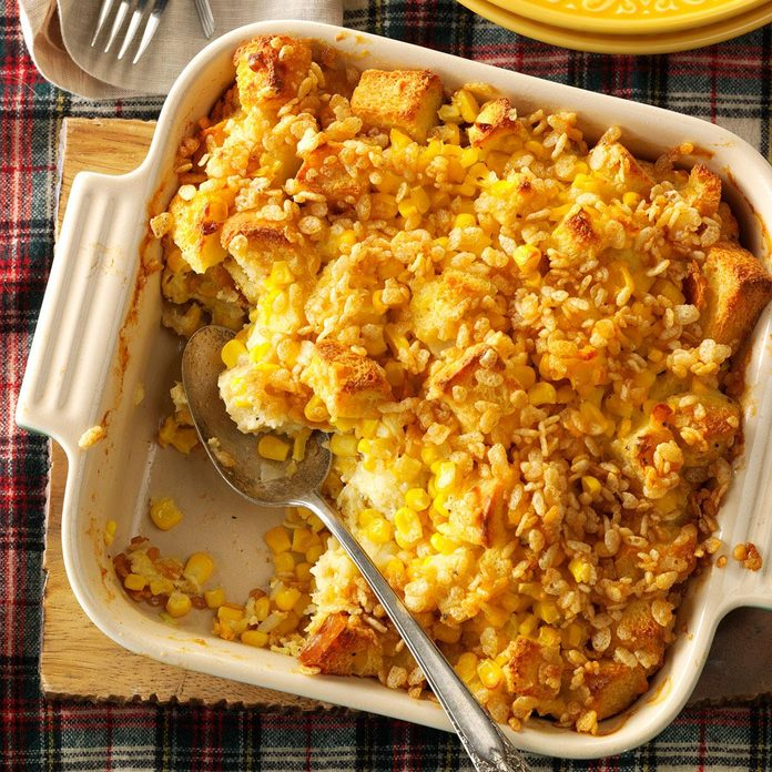 Scalloped Sweet Corn Casserole
