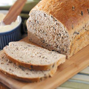 Three-Grain Wild Rice Bread