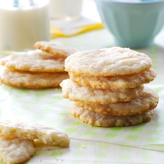 Lemon Oatmeal Sugar Cookies