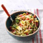 Avocado & Artichoke Pasta Salad