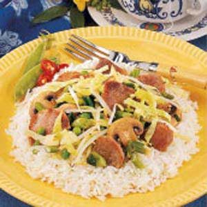 Pork Tenderloin Stir-Fry