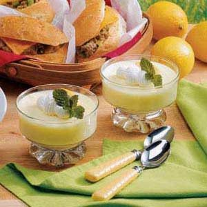 Fluffy Lemon Dessert