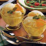 Creamy Citrus Sherbet