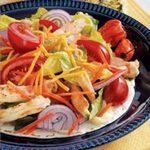 Chicken Salad on a Tortilla
