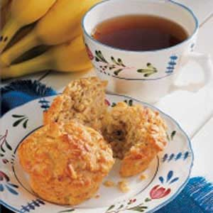 Banana Apple Muffins