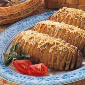 Roasted Fan-Shaped Potatoes