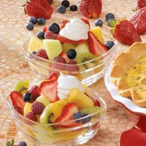 Maple Cream Fruit Topping