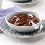 Light & Creamy Chocolate Pudding