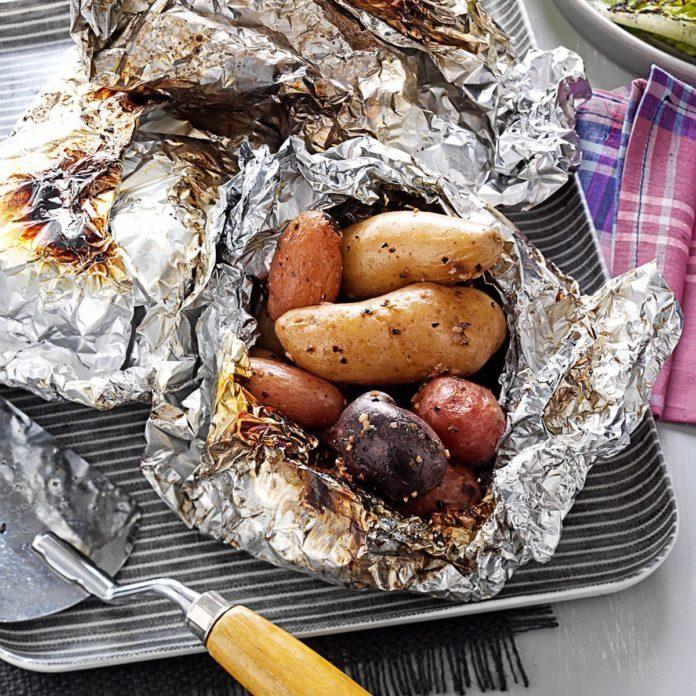 Herbed Potato Packs