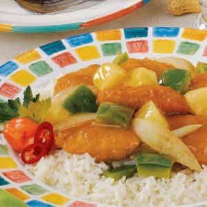 Sweet-Sour Chicken Nuggets