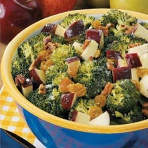 Broccoli Waldorf Salad