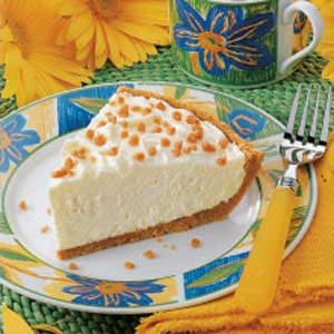 No-Bake Cheesecake Pie