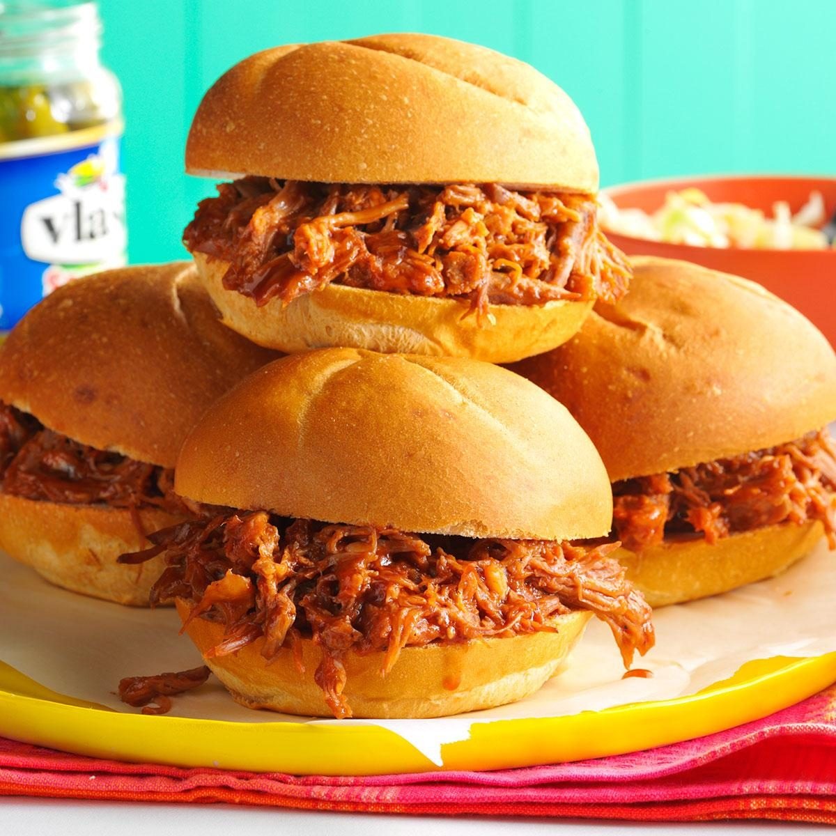 Root Beer Pulled Pork Sandwiches