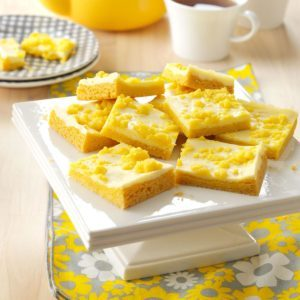 Lemony Cream Cheese Bars