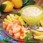 Lemon Fruit Dip