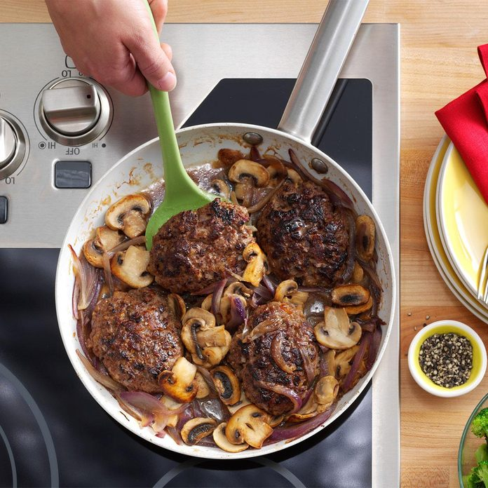 Day 21: Salisbury Steak Supreme