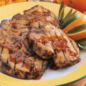 Orange-Ginger Pork Chops