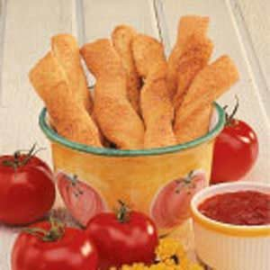 Garlic Parmesan Breadsticks