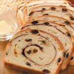 Swirled Cinnamon Raisin Bread