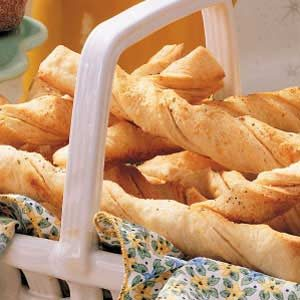 Soft Italian Bread Twists