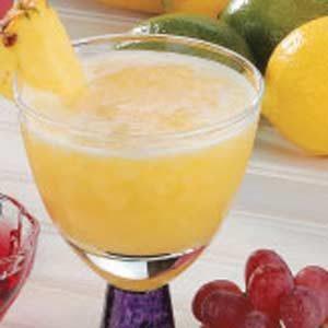 Banana Pineapple Slush
