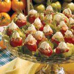 Smoked Salmon Cherry Tomatoes
