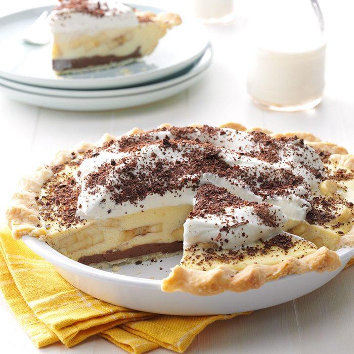 Creamy Chocolate-Banana Pie