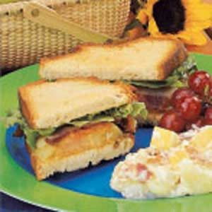 Fried Green Tomato Sandwiches